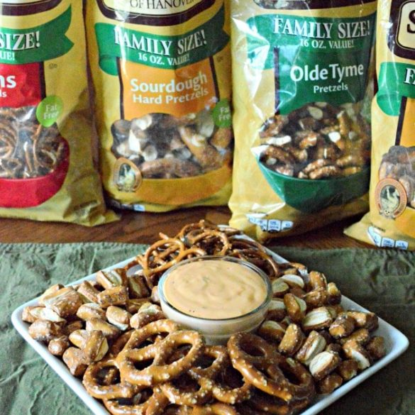 Pretzel Beer Cheese Dip with Snyder's of Hanover