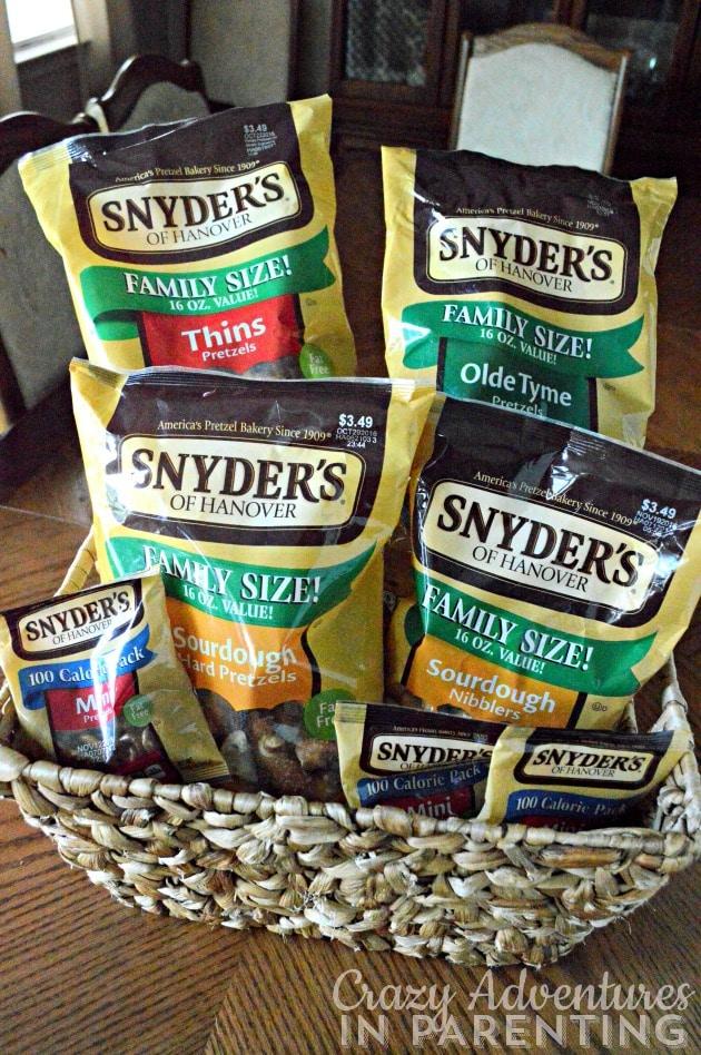 Snyder's of Hanover pretzels