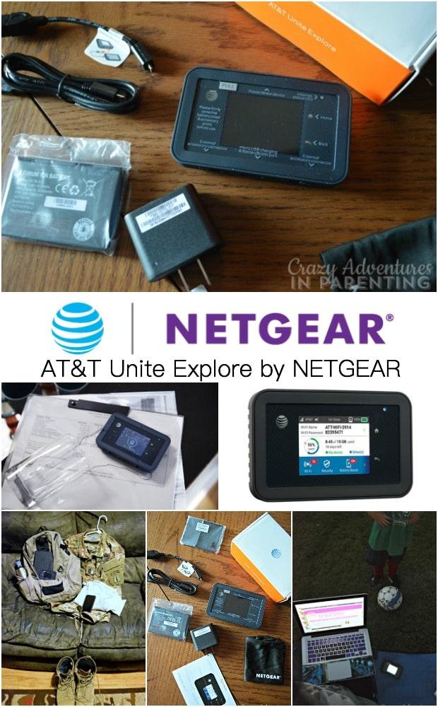AT&T Unite Explore by NETGEAR mobile hotspot