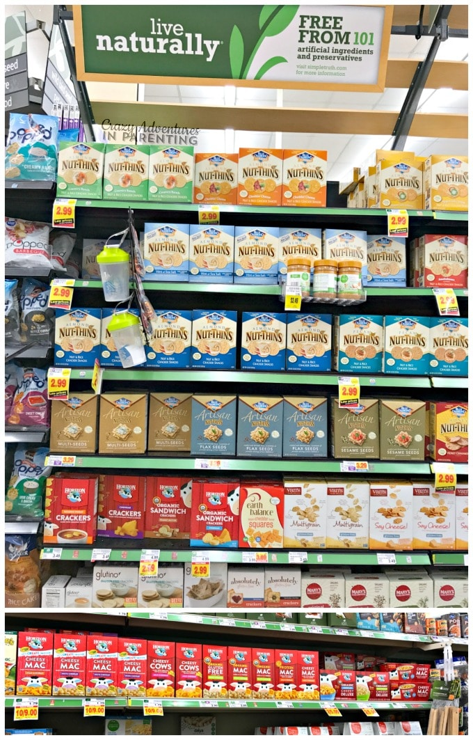 Horizon Organic products in King Soopers natural foods section