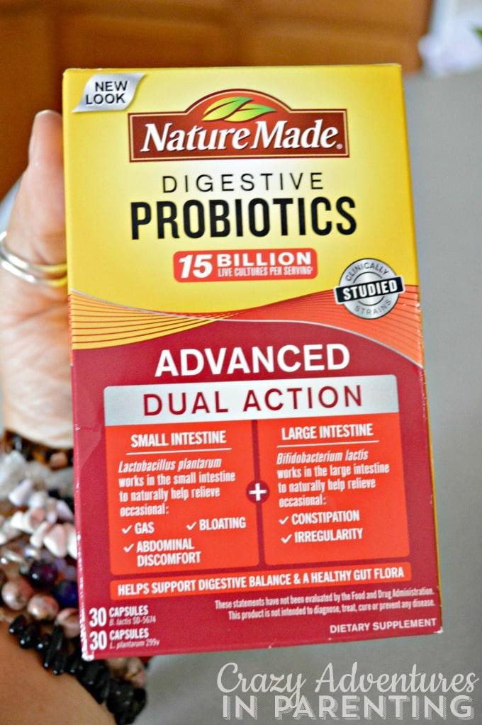 Nature Made Advanced Probiotics for me!