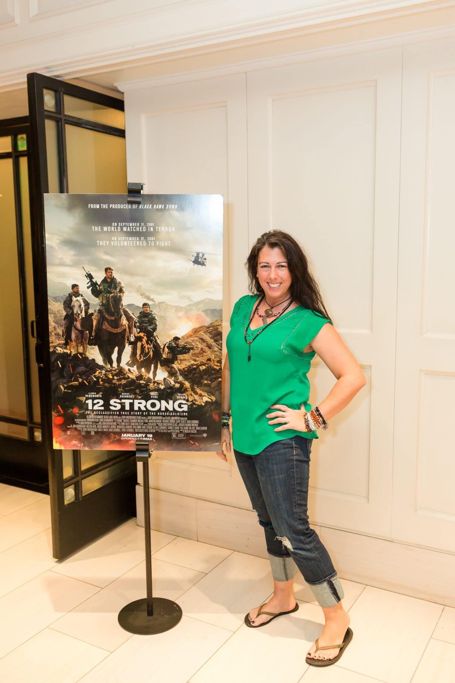 12 Strong press junket movie screening