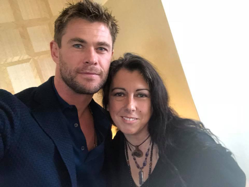 Chris Hemsworth 12 Strong Press Junket January 2018