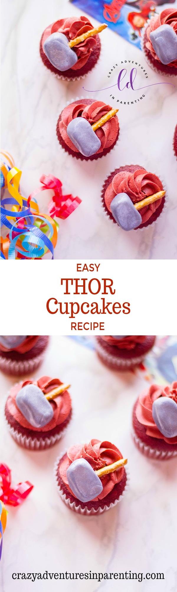 Easy Thor Cupcakes Recipe