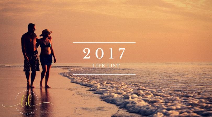2017 Life List