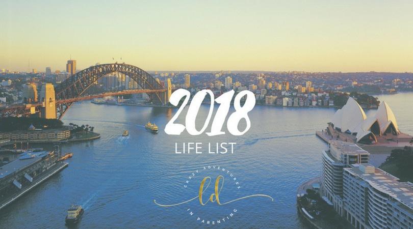 2018 Life List