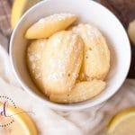 Easy Lemon Madeleine Cookie Recipe