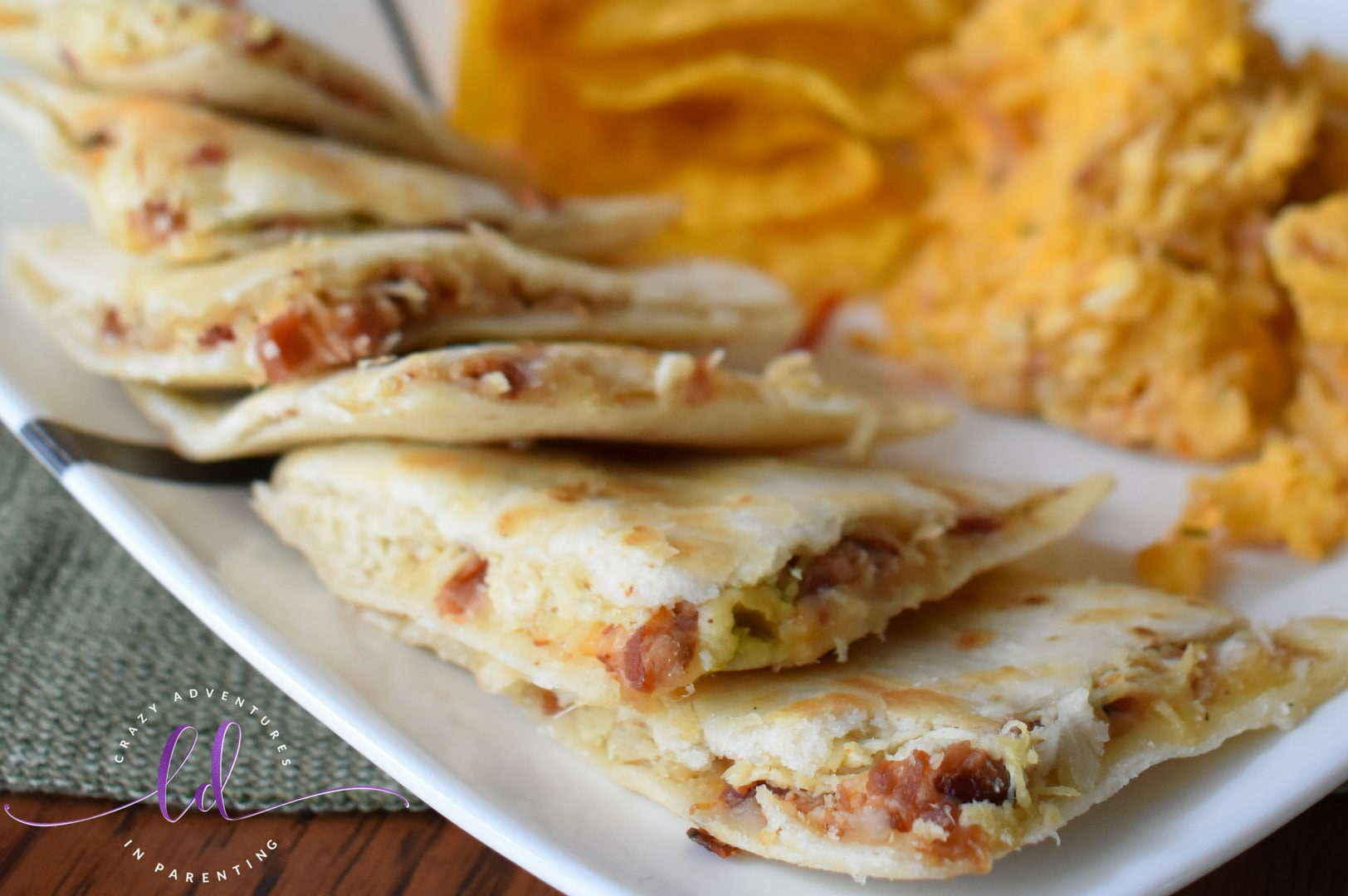 How to Make Jalapeño Chicken Bacon Ranch Quesadillas