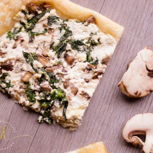 Mushroom Ricotta Tarts