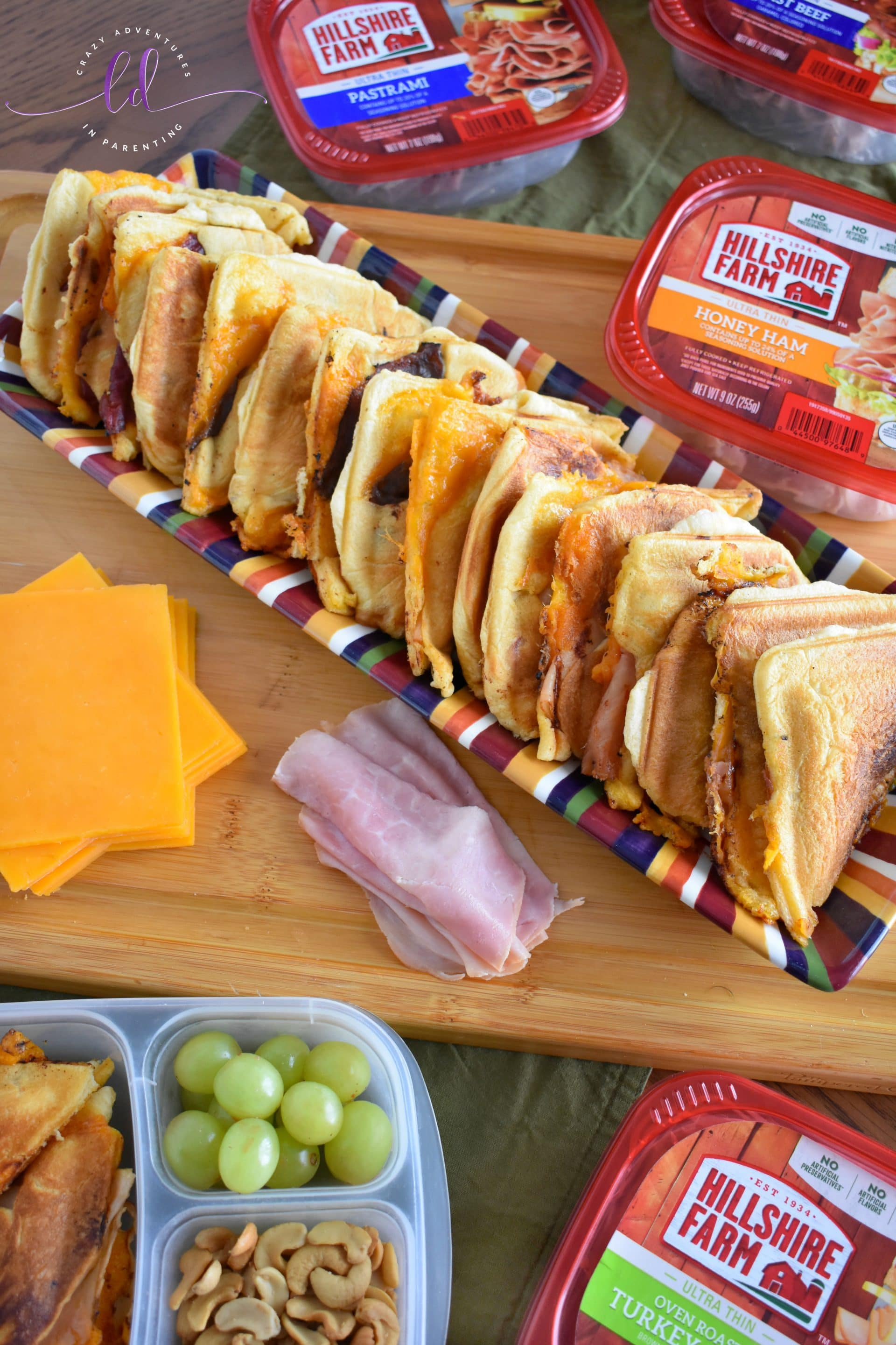 Easy Lunch Meat Crescent Roll Sandwiches