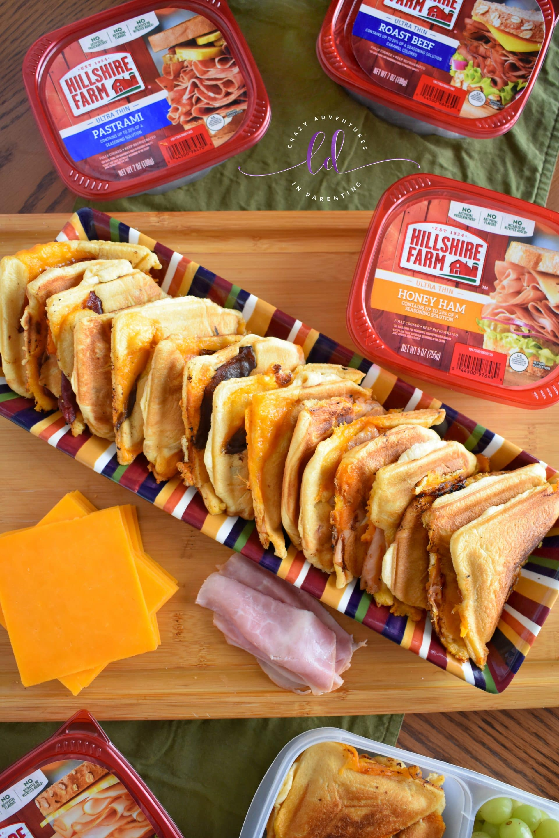 Hillshire Farms Crescent Roll Sandwich Maker Sandwiches