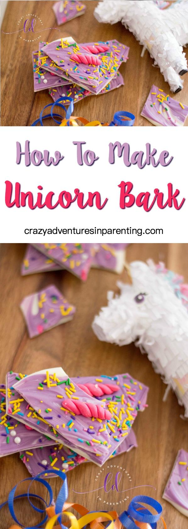 How to Make Easy Unicorn Bark