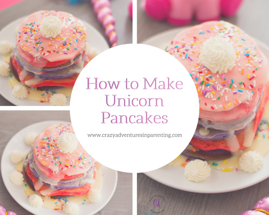 How to Make Fluffy Unicorn Pancakes