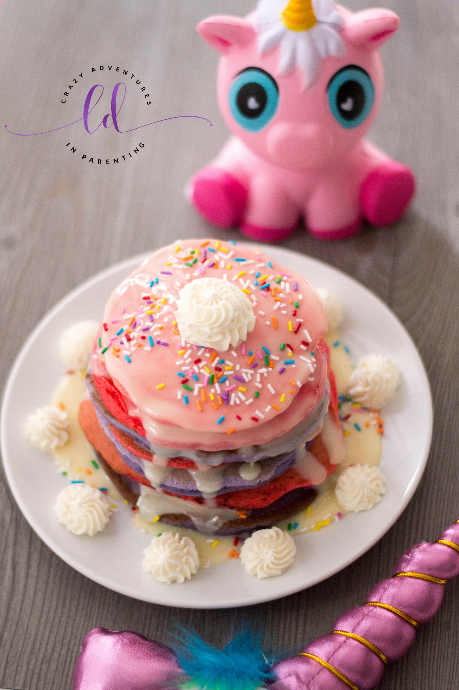 How to Make Unicorn Pancakes