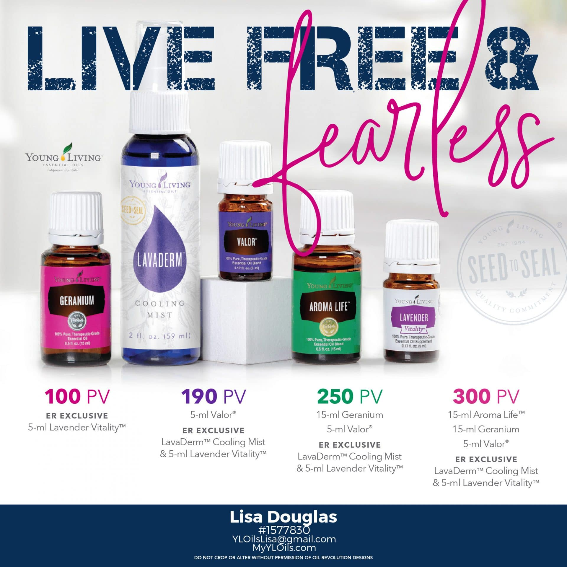July 2018 Young Living Promotion