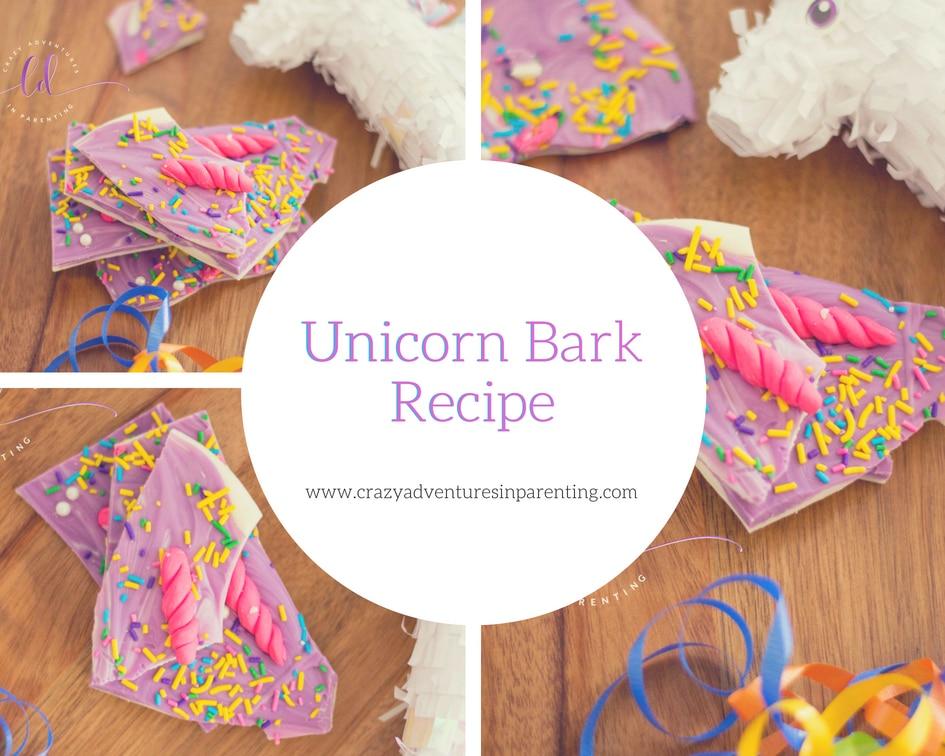 Learn How to Make Unicorn Bark