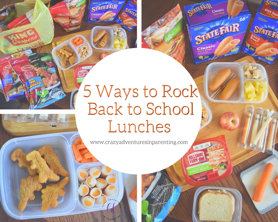 Rock Back to School Lunches with Tyson and Kroger
