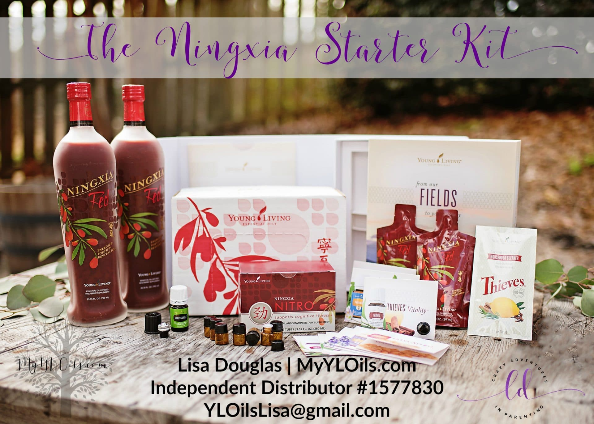 The Young Living Ningxia Starter Kit 2018