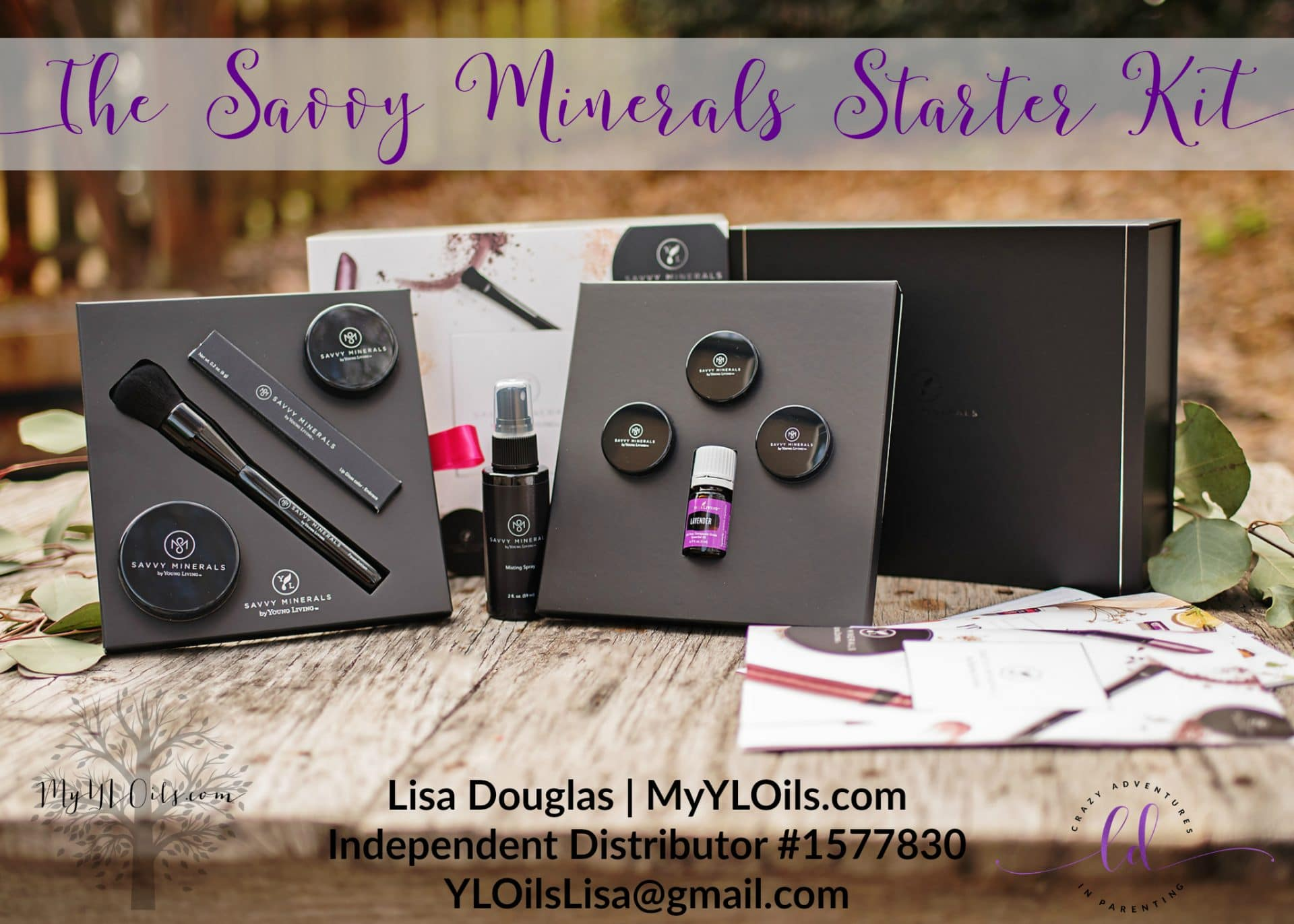 The Young Living Savvy Minerals Starter Kit 2018