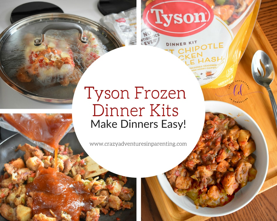 Tyson Frozen Dinner Kits Make Dinners Easy