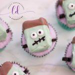DIY Frankenstein Cupcakes
