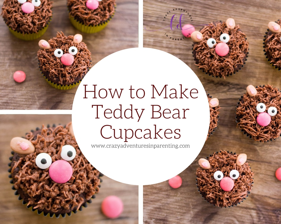 How to Make Teddy Bear Cupcakes