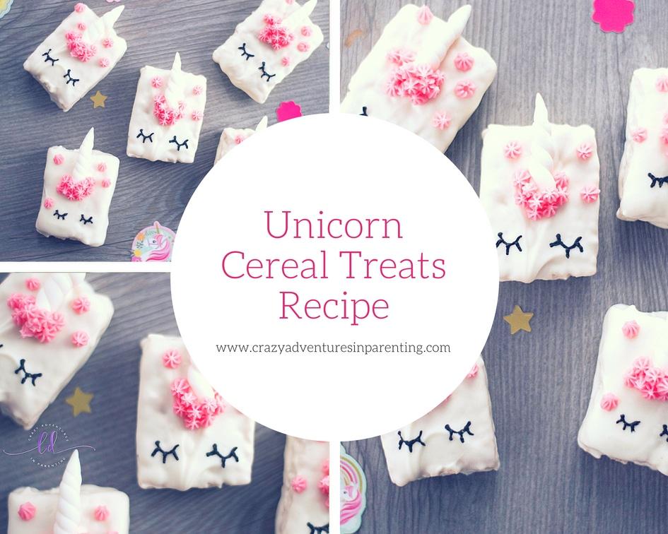 How to Make Unicorn Cereal Treats