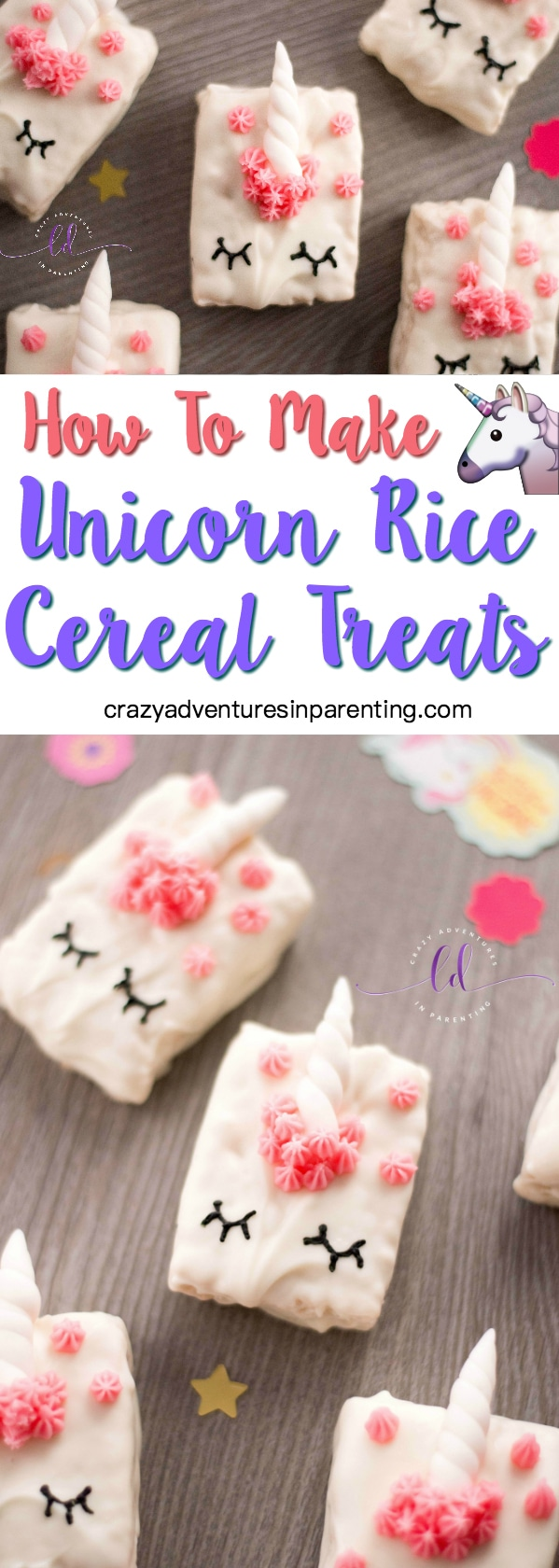 Learn How to Make Unicorn Cereal Rice Treats