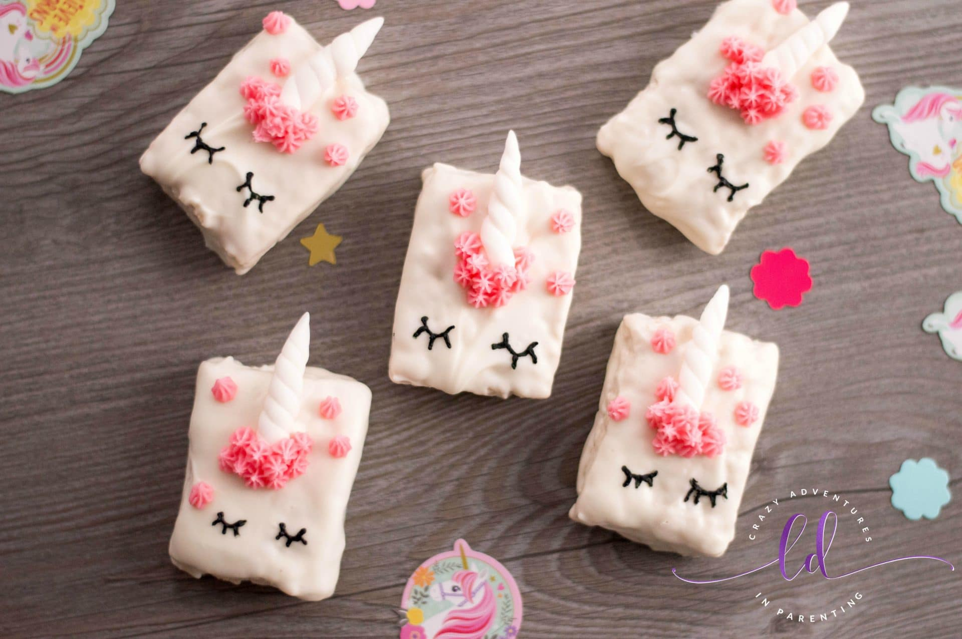 Magical Unicorn Cereal Treats