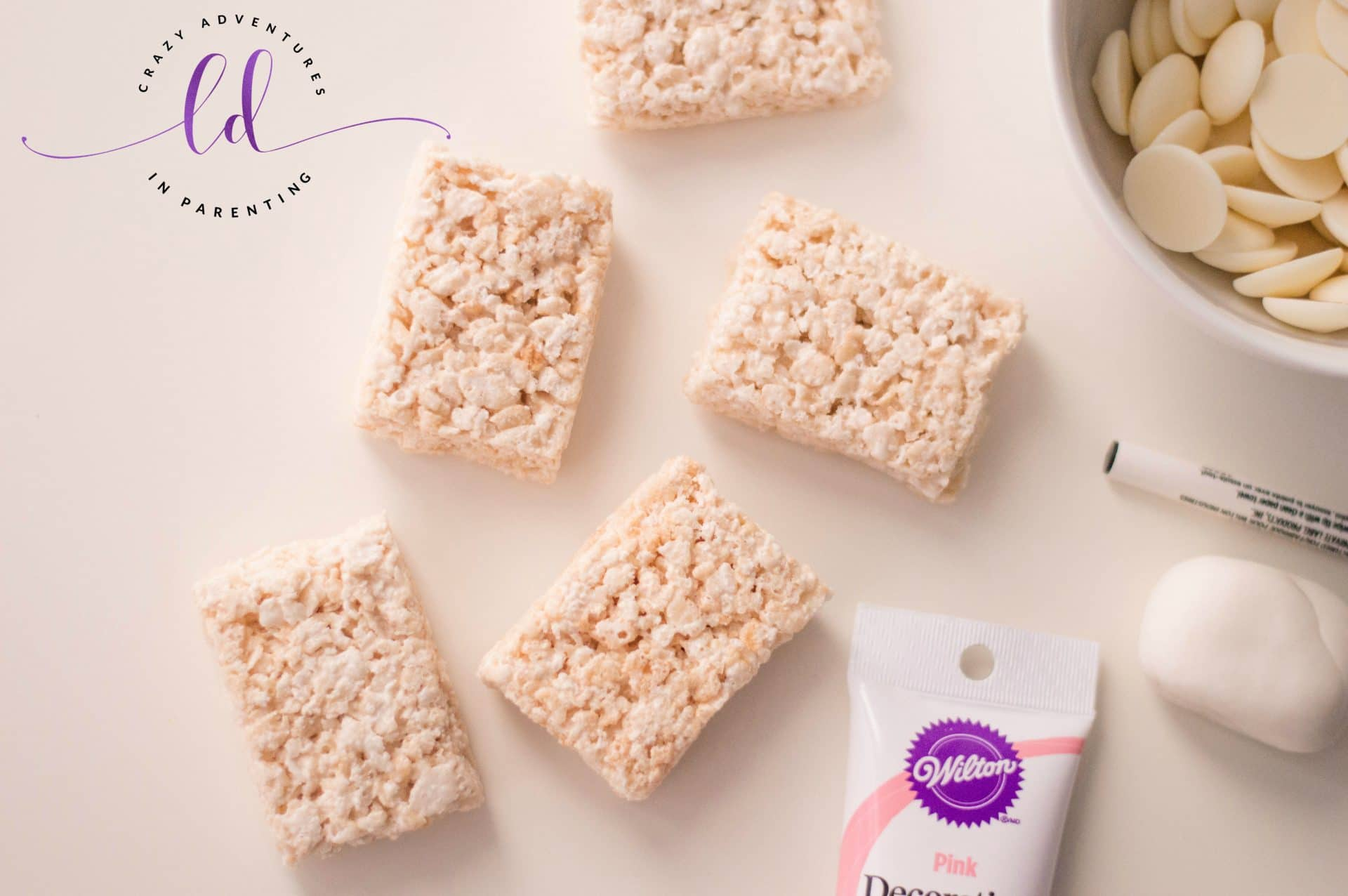 Unicorn Rice Cereal Treats ingredients