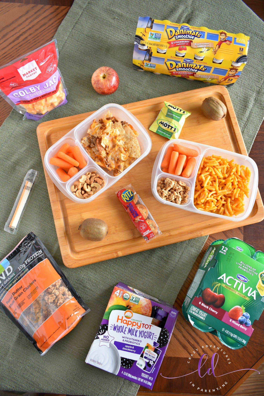 Yogurt at Target School Lunch Ideas