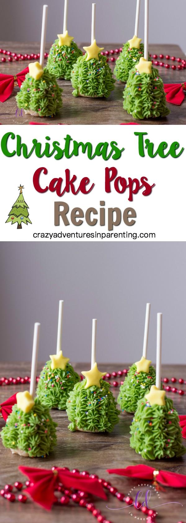 Christmas Tree Cake Pops Recipe