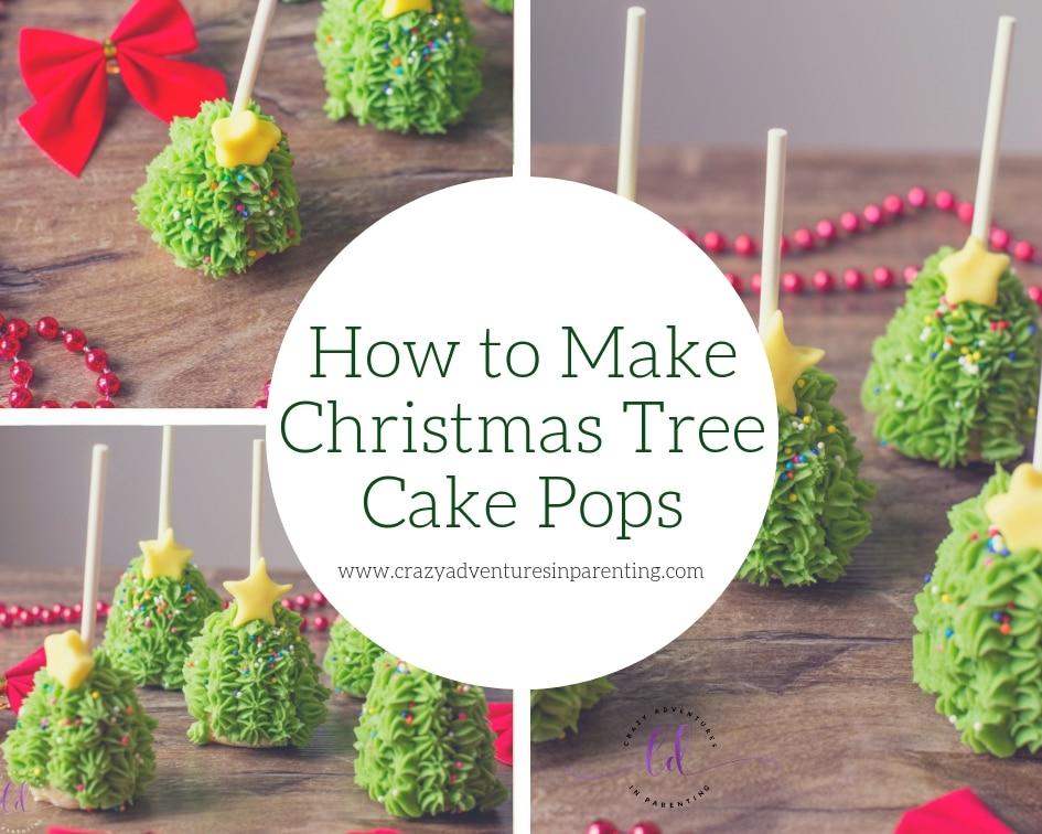 How to Make Christmas Tree Cake Pops