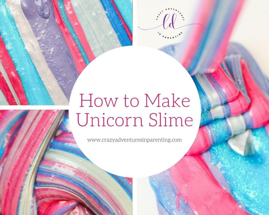 How to Make Unicorn Slime
