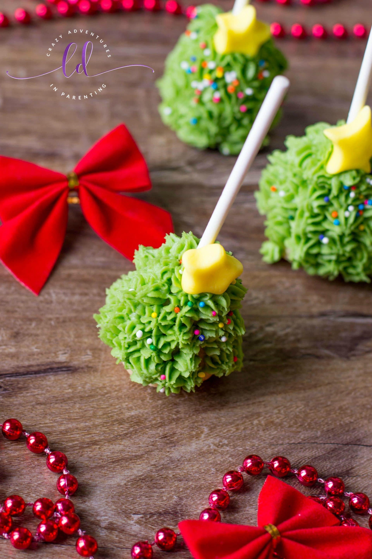 Simple Christmas Tree Cake Pops
