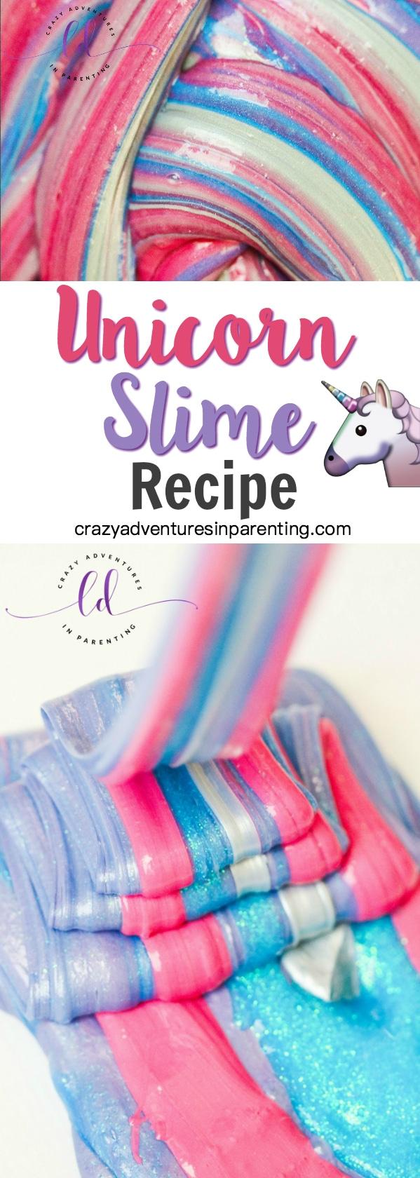 Unicorn Slime Recipe