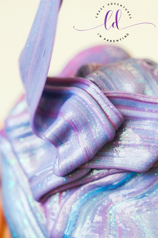 Unicorn Slime ribbons