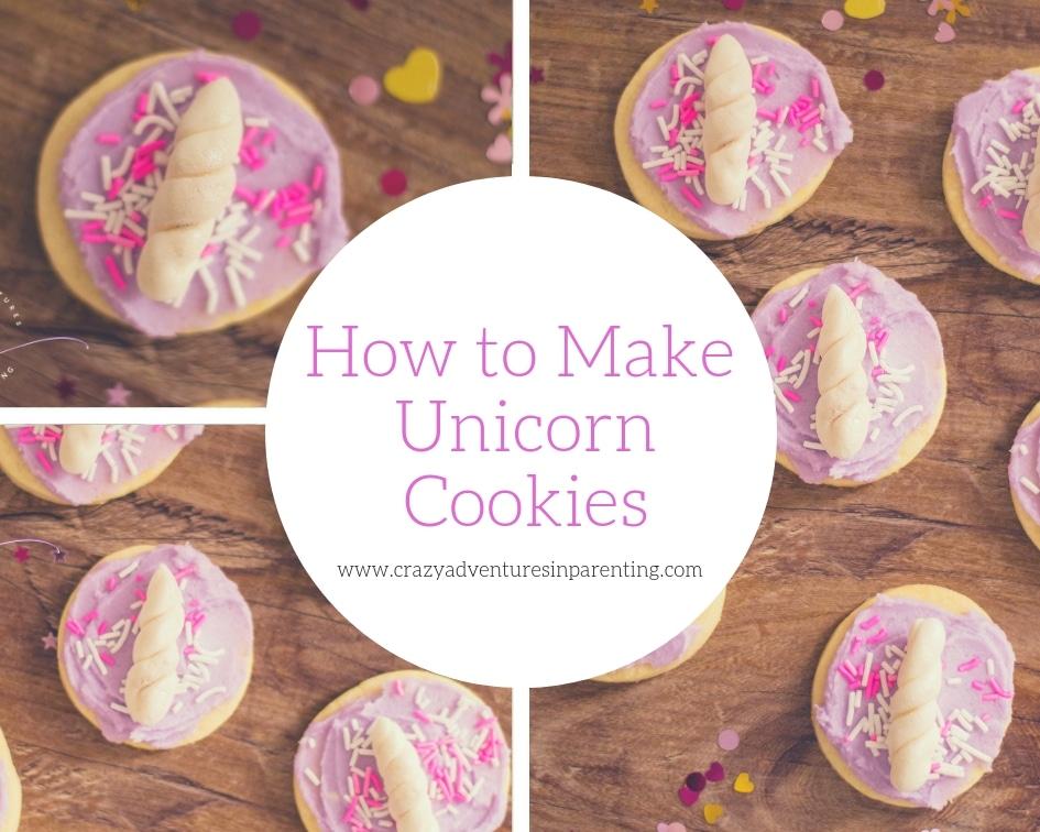 How to Make Unicorn Cookies