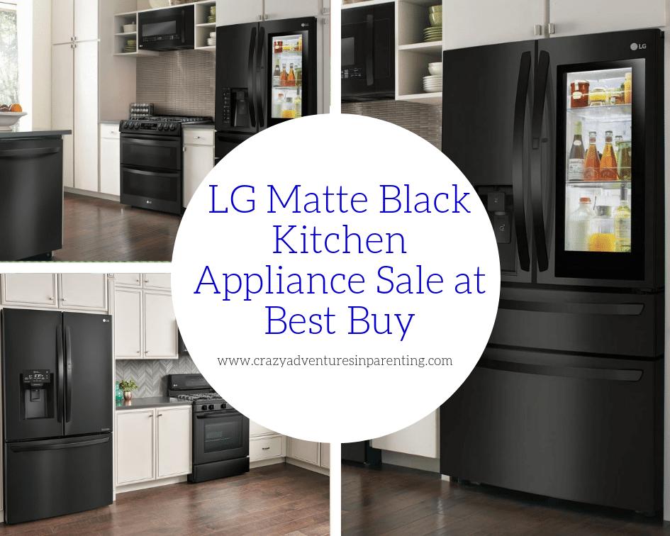 Gorgeous Lg Matte Black Kitchen Appliances At Best Buy