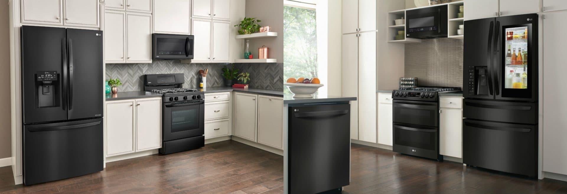 Gorgeous Lg Matte Black Kitchen Appliances At Best Buy Crazy