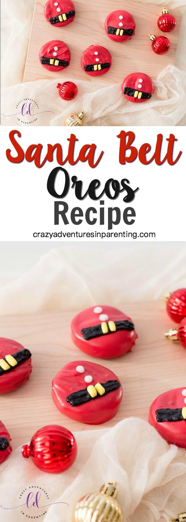 Santa Belt Oreos Recipe