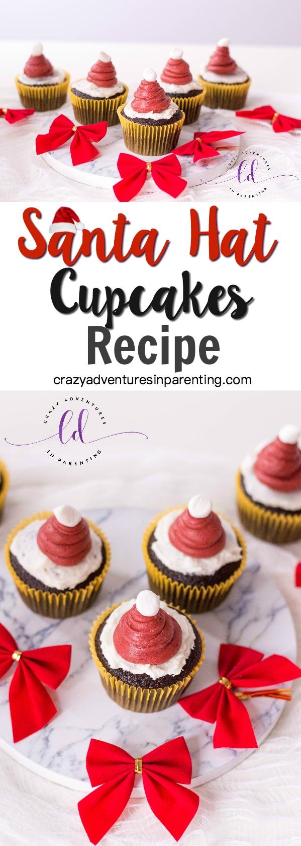 Santa Hat Cupcakes Recipe