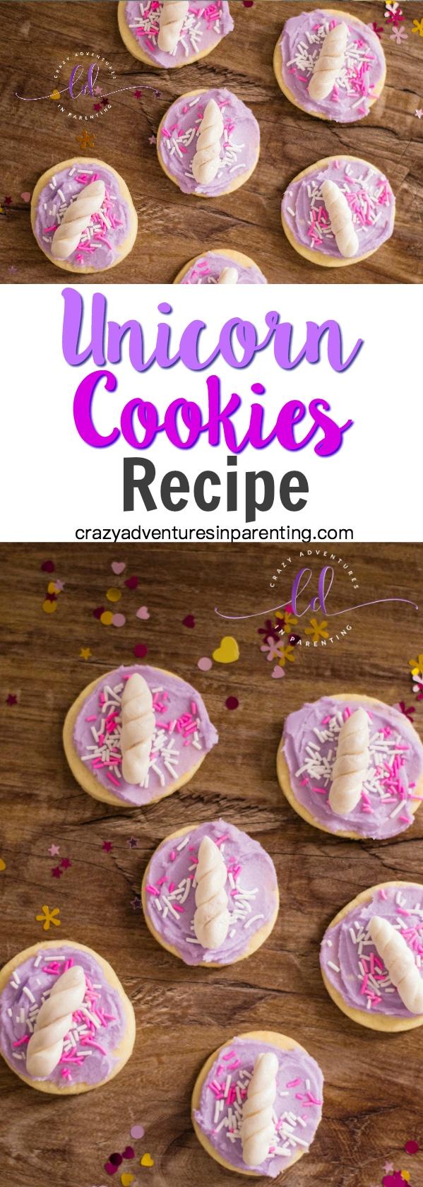 Unicorn Cookies Recipe