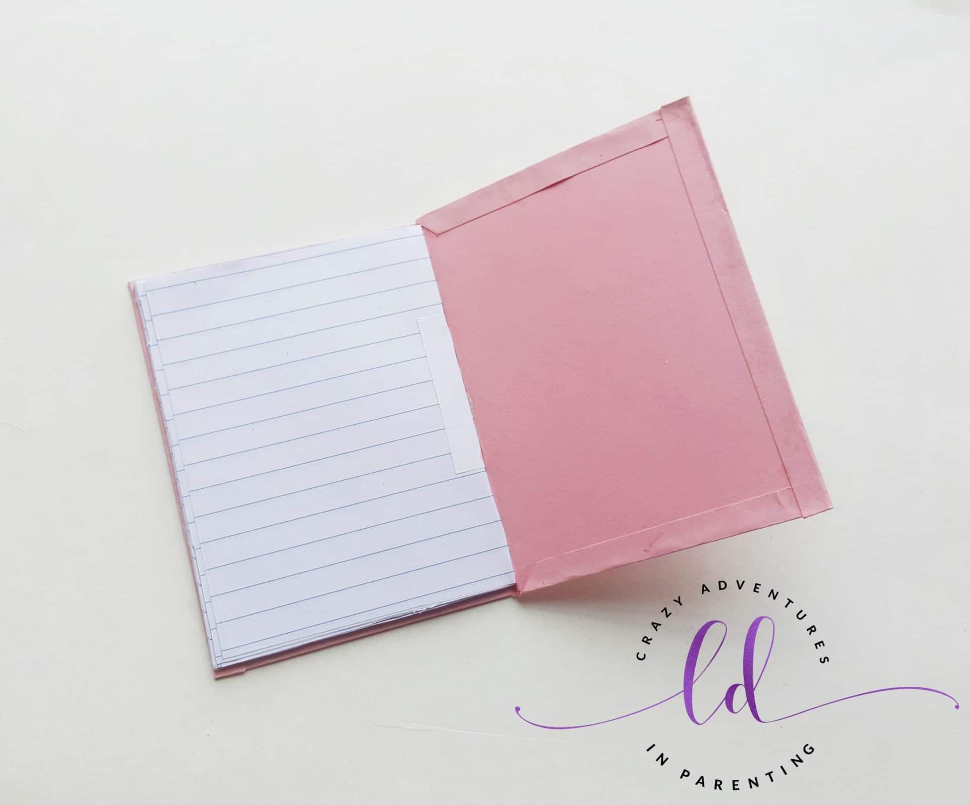 DIY Unicorn Notebook - Step 10
