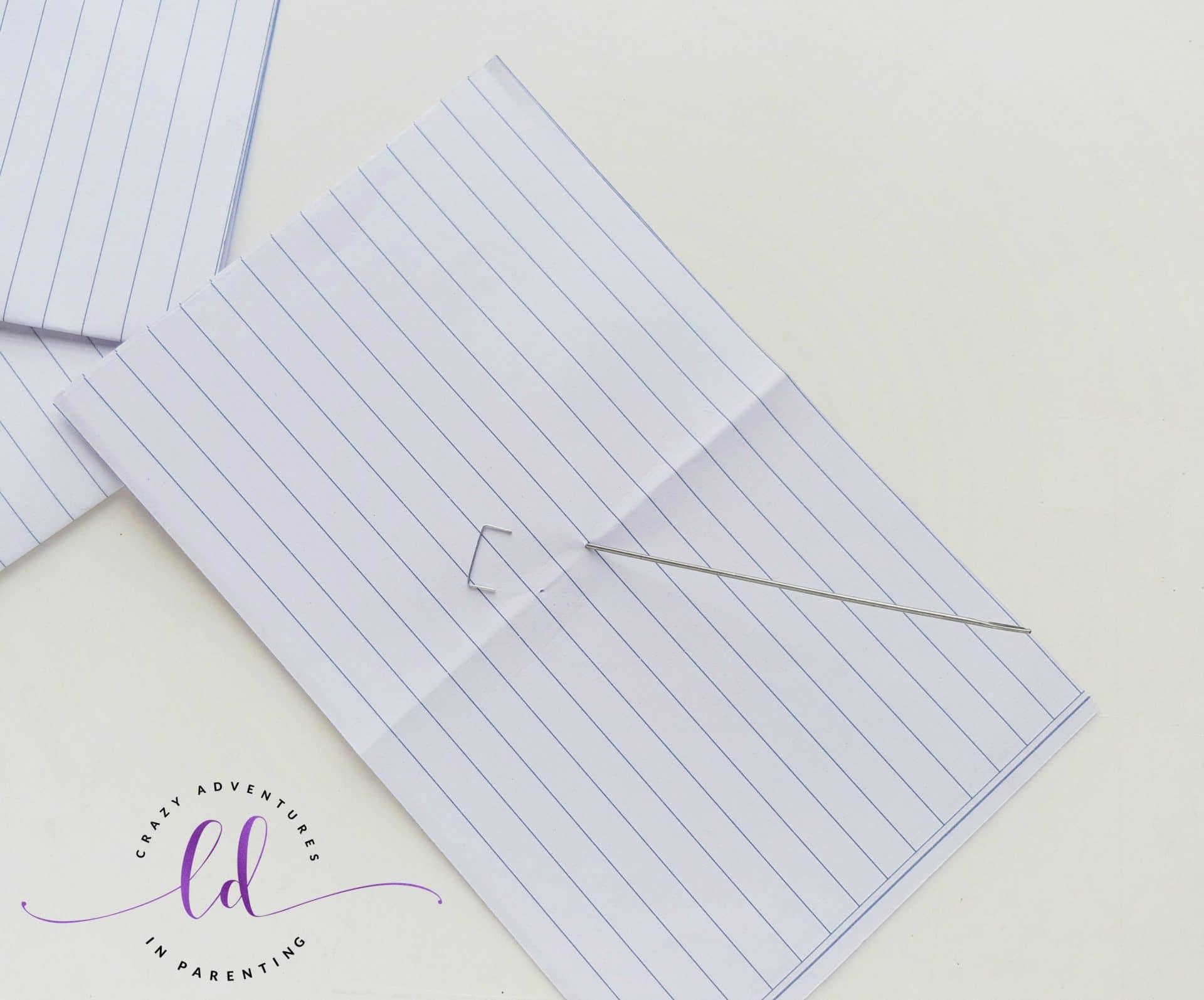 DIY Unicorn Notebook - Step 2