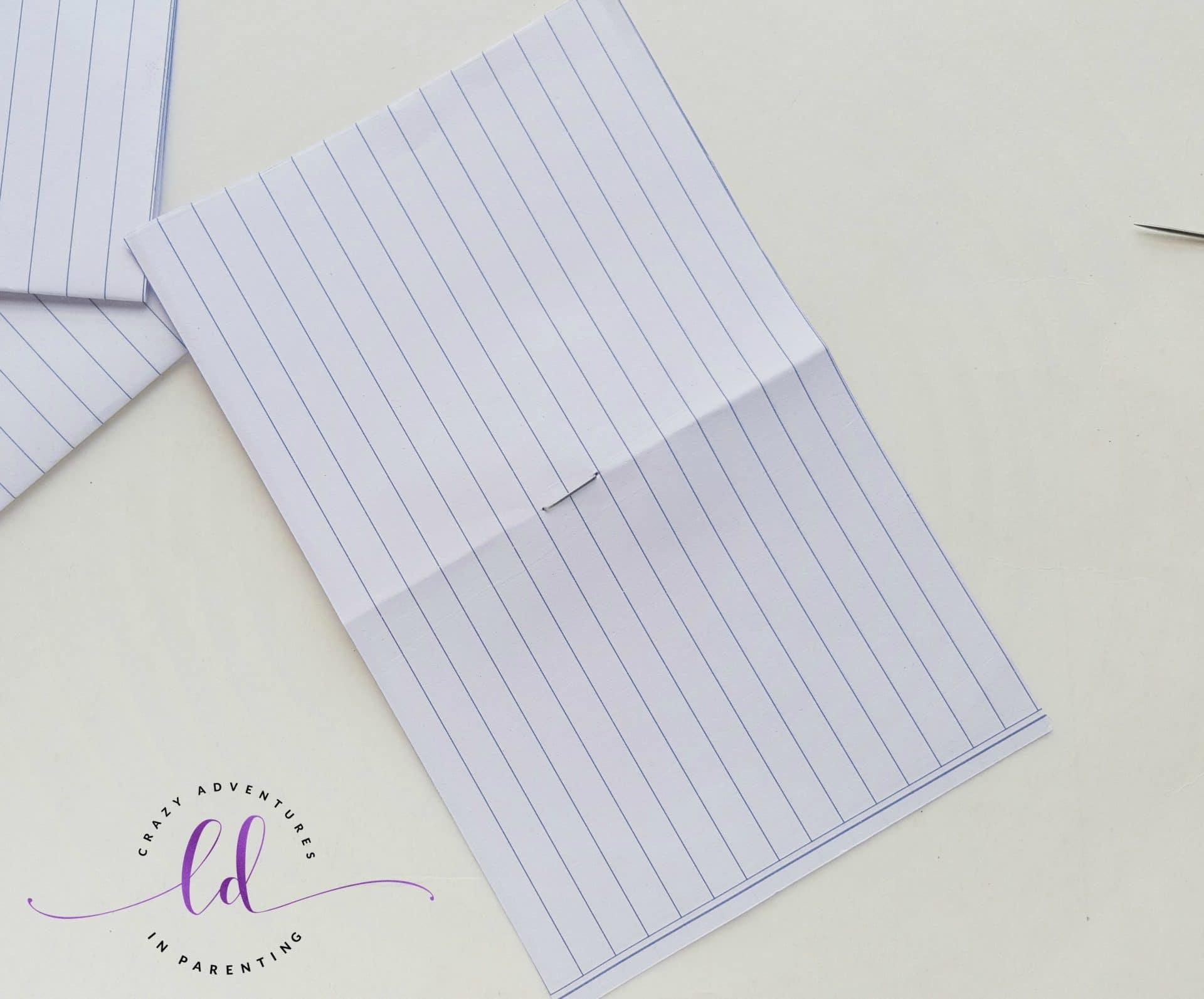 DIY Unicorn Notebook - Step 3