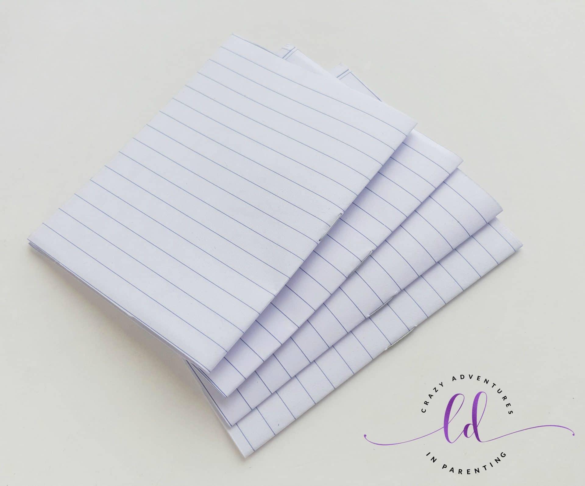 DIY Unicorn Notebook - Step 4