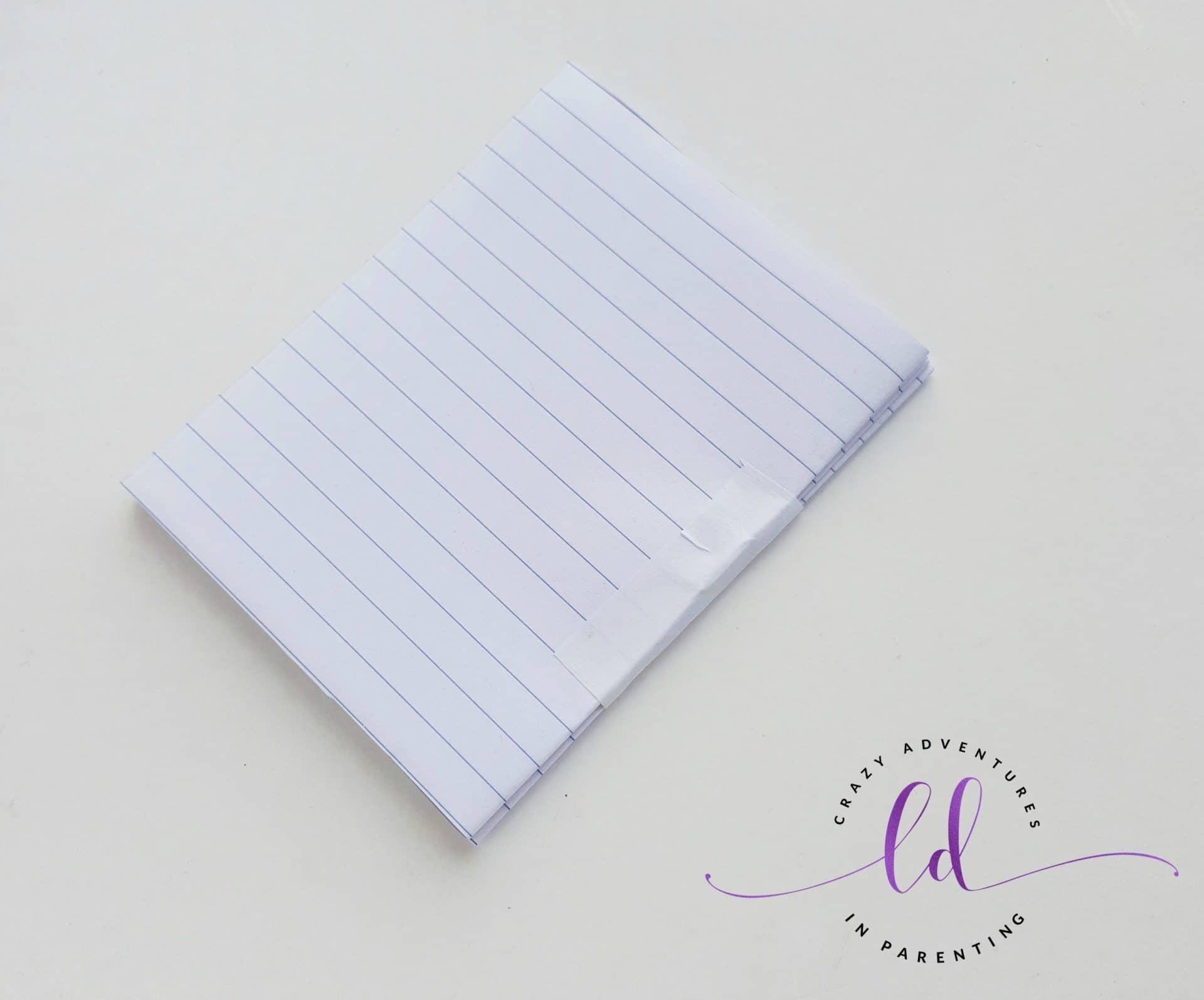 DIY Unicorn Notebook - Step 6