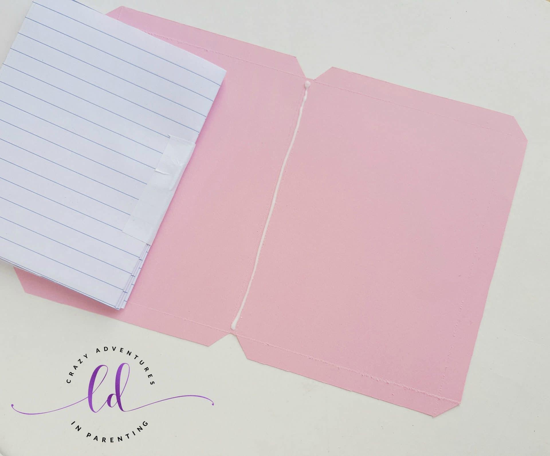 DIY Unicorn Notebook - Step 8