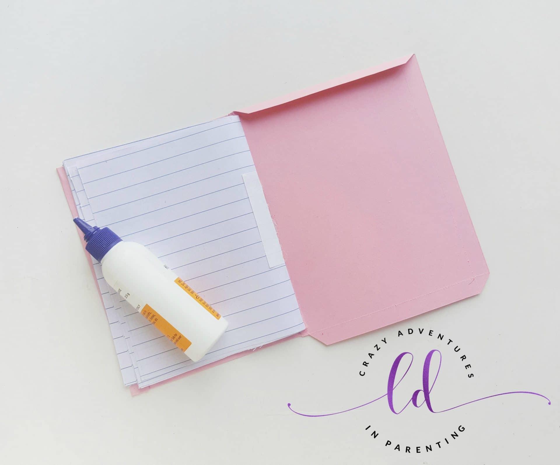 DIY Unicorn Notebook - Step 9